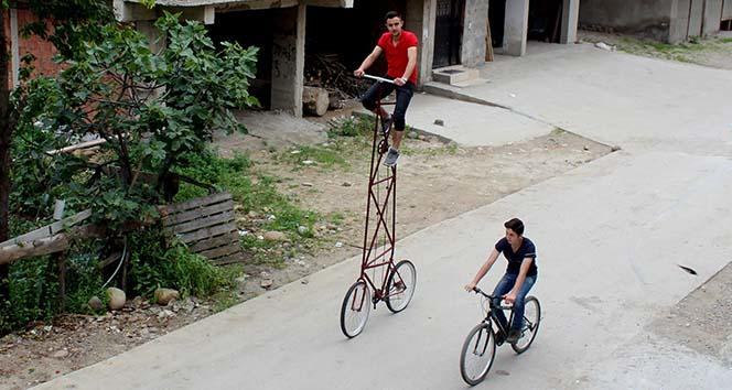 Bu Bisikleti Kullanmak Yürek İster (Giresun)