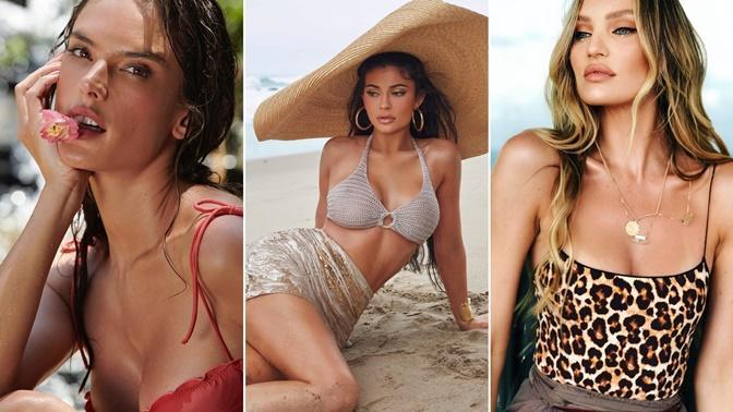 Bikinili Pozlarıyla Yazı Ateşe Veren Süper Modeller!