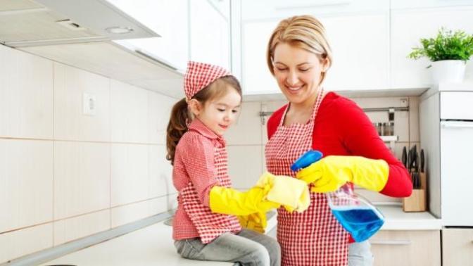 Çocuklu Annelerin Ev Temizliğinde Dikkat Etmesi Gerekenler!