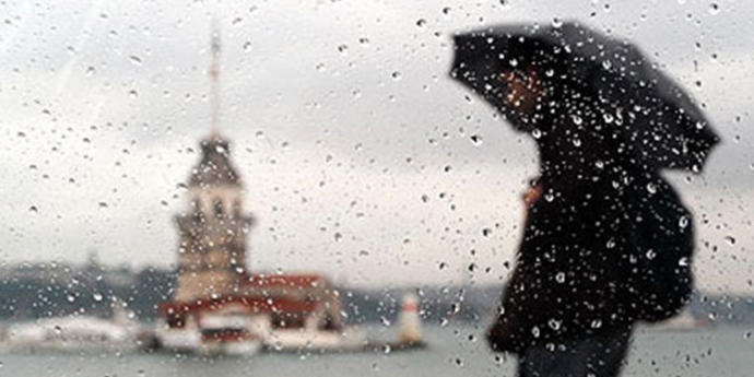İstanbul'a Serin ve Yağmurlu Hava Geliyor