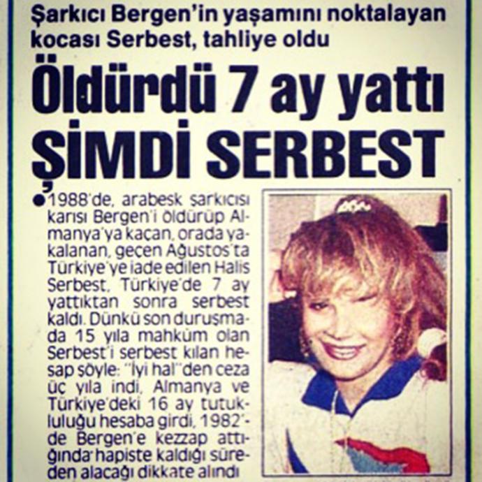 Azrail'ine Aşık Olan, Acıların Kadını Bergen!