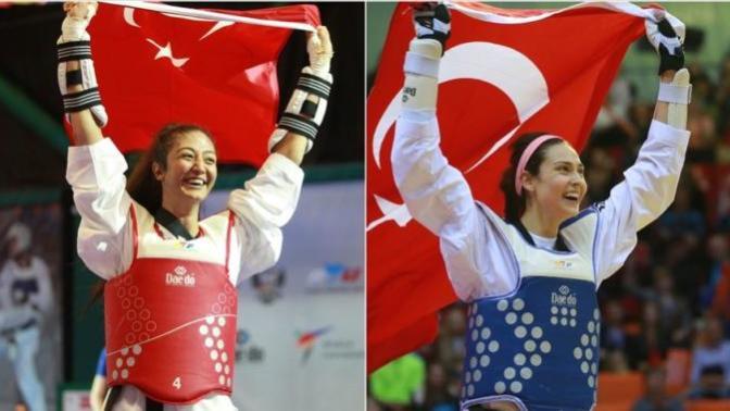 Altın Kızlar! İrem Yaman ve Nafia Kuş Altın Madalya Kazandı (30. Üniversiteler Yaz Spor Oyunları)