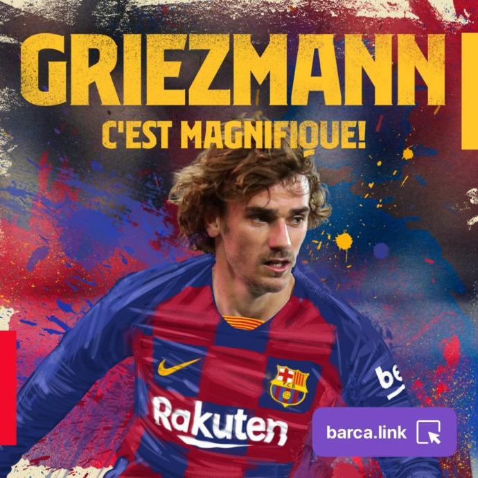 Antoine Griezmann, Barcelona'ya Transfer Oldu