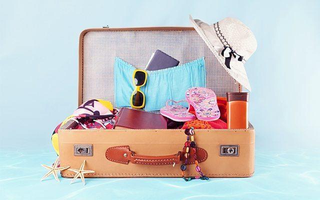 Kadınlara Özel 7 Parçalık Tatil Çantası