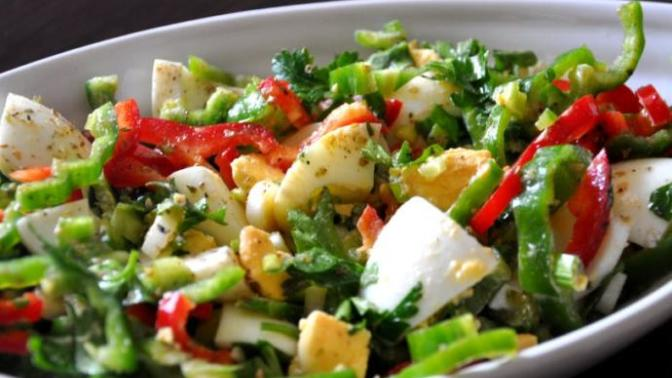Acıktırmayan Tadı Olay Diyet Salata