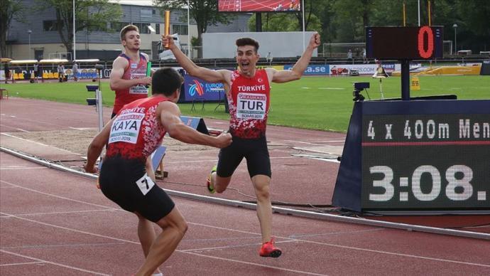 Avrupa 20 Yaş Altı Atletizm Şampiyonası'nda Tarihi Başarı