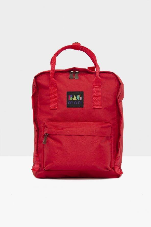 Kırmızı Kare Askı Ayarlı Çanta
