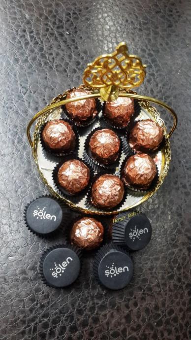 Şölen Deluxe Fındık Kaplamalı Çikolata 500 Gr