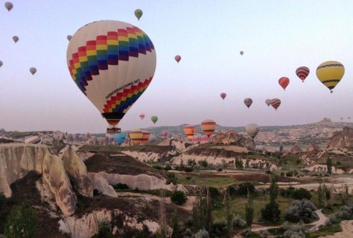 Hava balonu ile seyahat