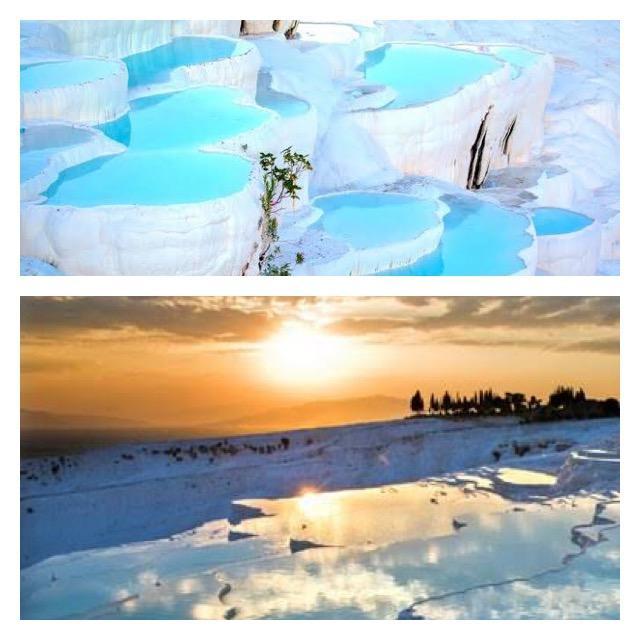 UNESCO Dünya Mirası Listesinde yer alan Pamukkale
