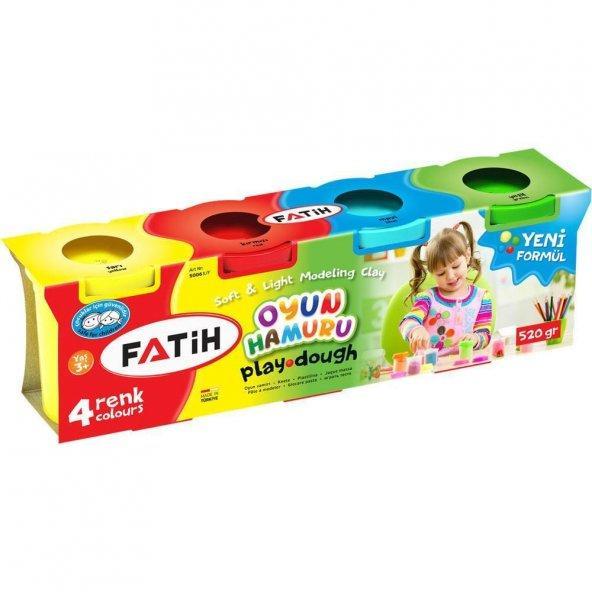 Fatih 4 renk oyun hamuru