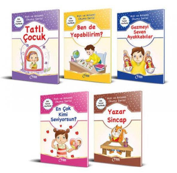 Hızlı ve Anlamlı Okuma Serisi (5 Kitap) 1. Sınıf okuma kitabı