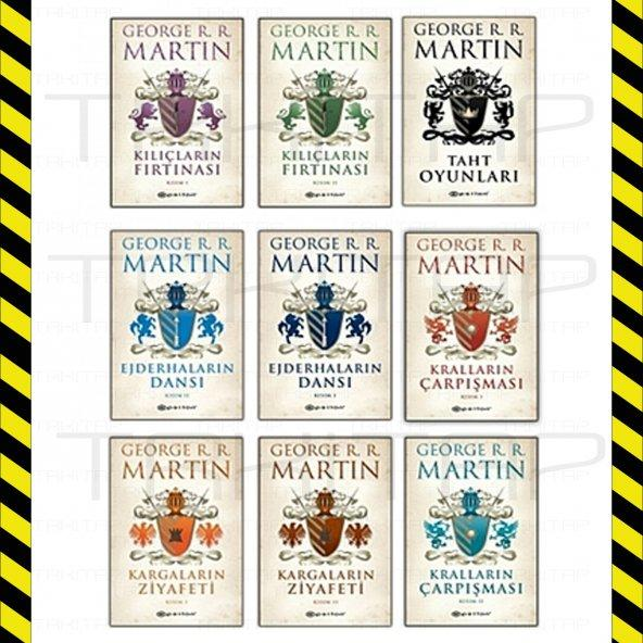 George R. R. Martin 9 Kitap