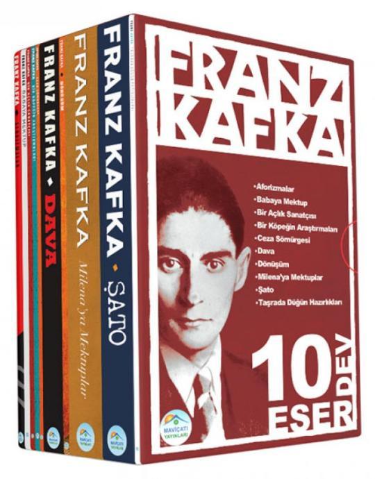 Franz Kafka 10 Kitap