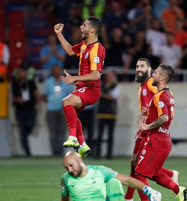 TFF Süper Kupa'sını Galatasaray Kazandı