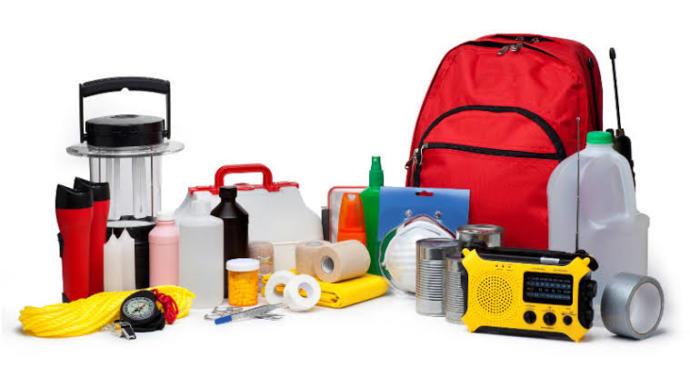 Deprem çantası örneği
