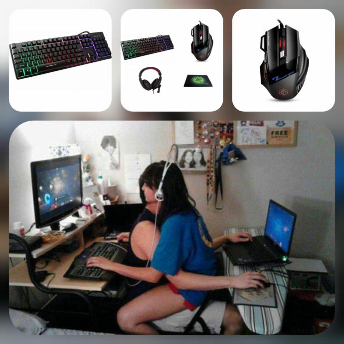 Pro Gaming Oyuncu Seti