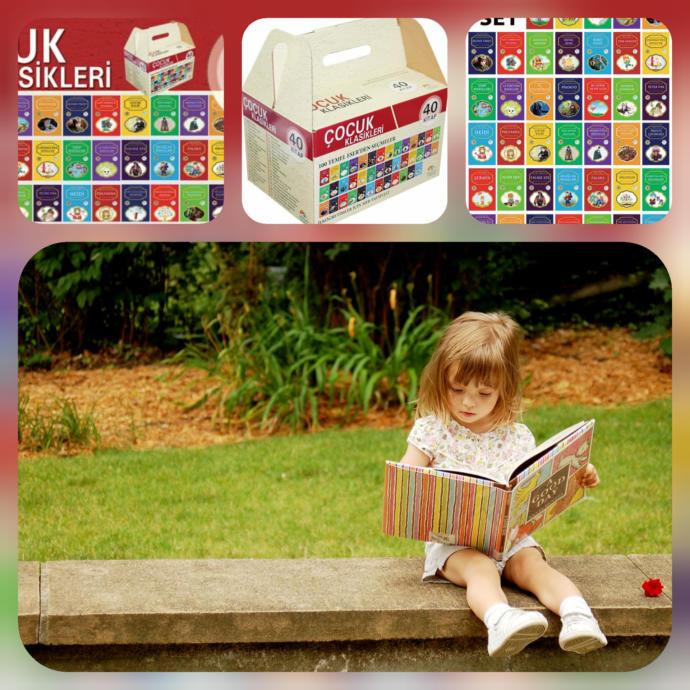 Ülkemizin Geleceği Çocuklara Uygun Kitap Seti