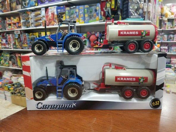Cararama Oyuncak Römorklu Traktör Çiftlik Oyun Seti