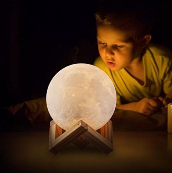 Dokunmatik renk değiştiren gece lambası