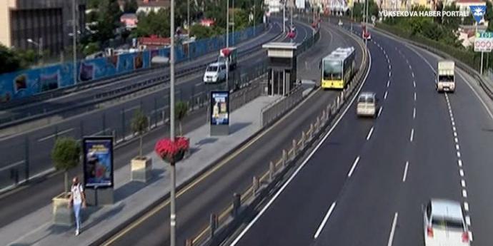 İstanbul'da Trafik Yoğunluğu Yüzde 30'un Altına İndi