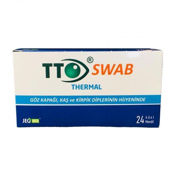 TTO Thermal Swab Göz Mendili 24 Adet