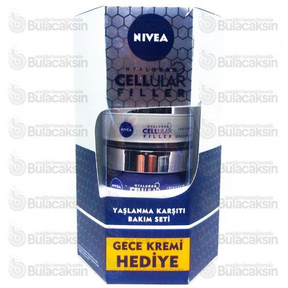 Nivea Cellular Yaşlanma Karşıtı Gündüz + Gece Bakım Kremi 50 + 50 ML