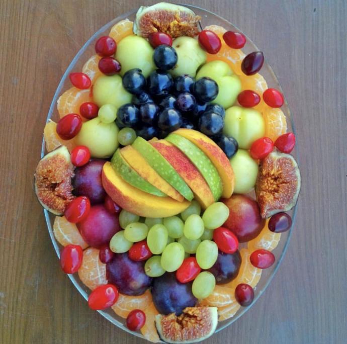 Meyve tabağı (İzmir)