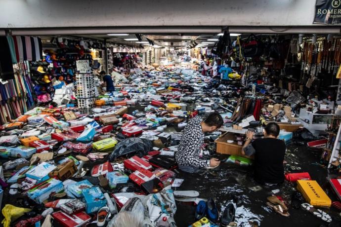 İstanbul'da Bir Kişi Hayatını Kaybetti (Yoğun Sağanak Yağış)