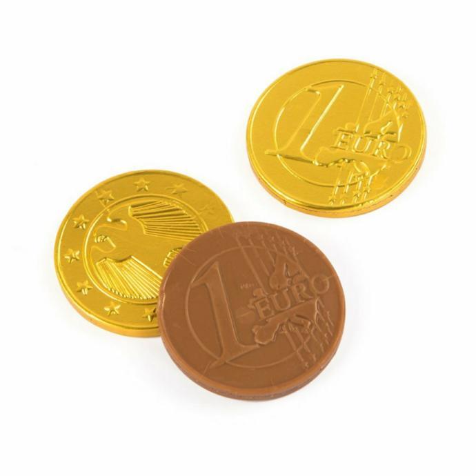 Hehem! Bugün de Zenginiz! Altın Çikolatalar