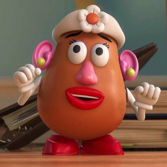 Bayan patates kafa