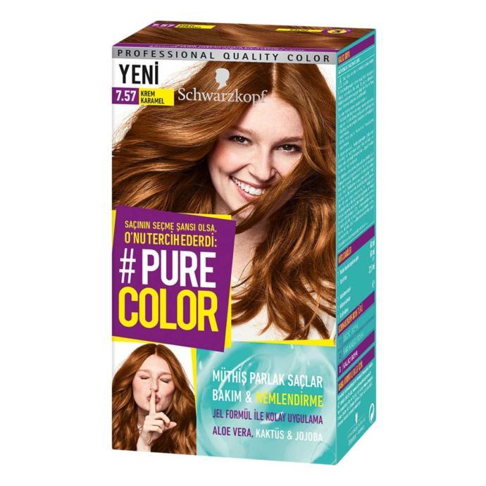 Pure Color 7-57 Krem Karamel + göz bandı