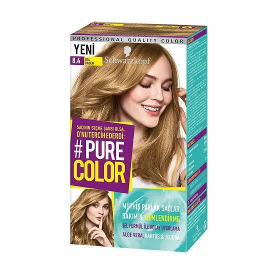 Pure Color 8-4 Bal Badem+ Göz Bandı