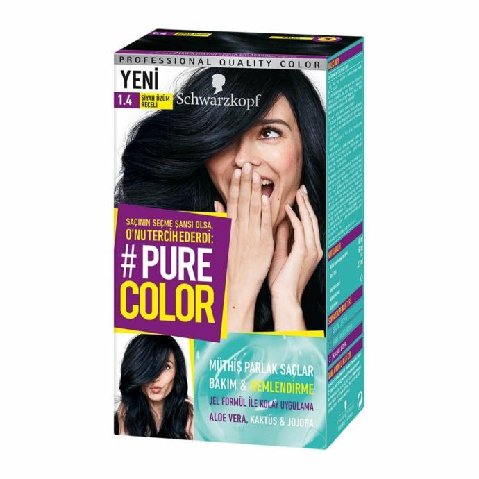 Pure Color 1.4 Siyah Üzüm Reçeli+ göz bandı