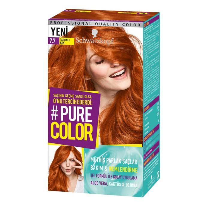 Pure Color 7-7 Tarçınlı Kek + göz bandı