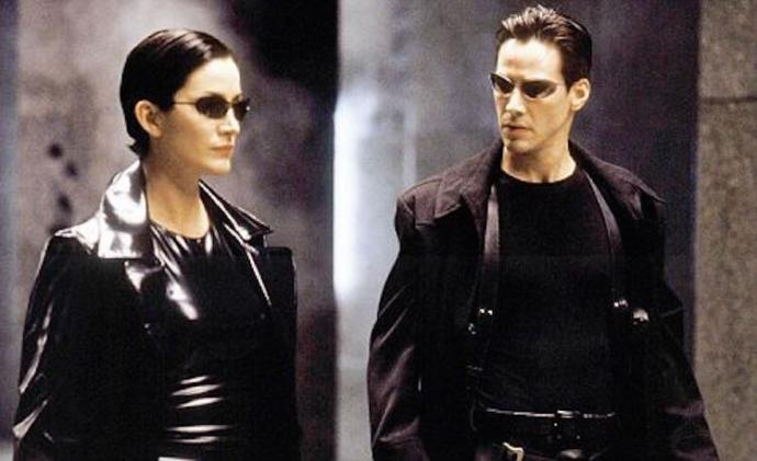 Carrie-Anne Moss - Keanu Reeves