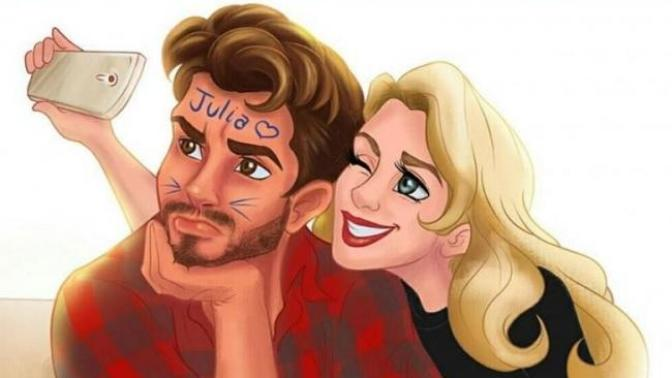 Aynı Evi Paylaşan Sevgililerin Yaşadığı Eğlenceli Anların Anlatıldığı Harika Çizimler!