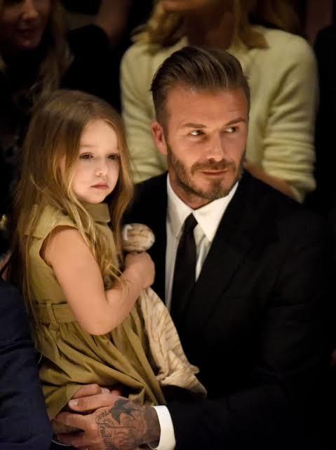 Bir baba olarak; David Beckham