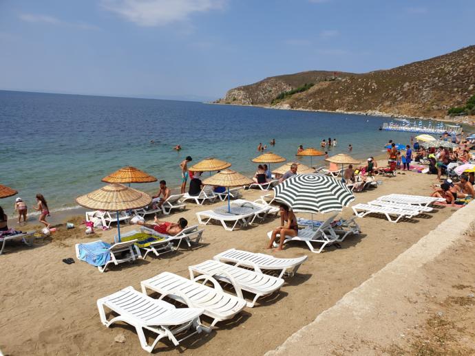 Çınar koyu plajı