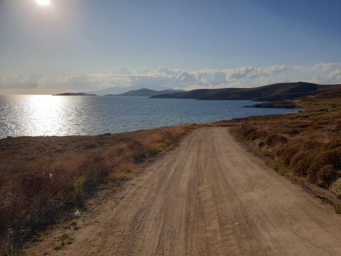 Adanın kuzeyine doğru yaptığım keyifli yolculuklardan birisi