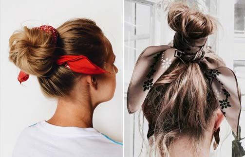 Fular ve Saç Bantları ile Eğlenceyi Saçlarınıza Taşımanızı Sağlayacak Şekillendirme Önerilerim!