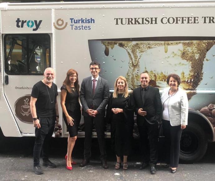 Türk Kahvesi New York'ta Tanıtılmaya Başladı