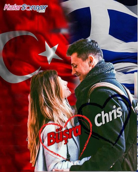 Biri Türk Biri Yunan: Ülkeler Üstü Masal Gibi Aşk Hikayeleri ile Büşra ve Chris KizlarSoruyor'da