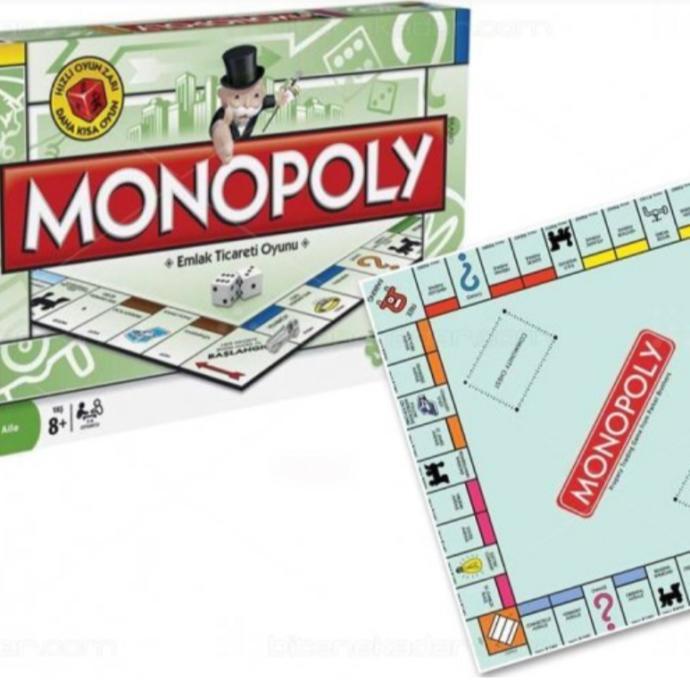 Monopoly Emlak Ticaret Oyunu
