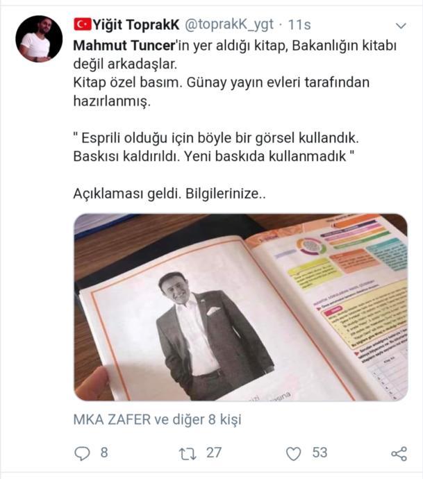 Mantığı Alt Üst Olan Twitter Kullanıcılarının Garip Tartışması: Mantık ve Mahmut Tuncer