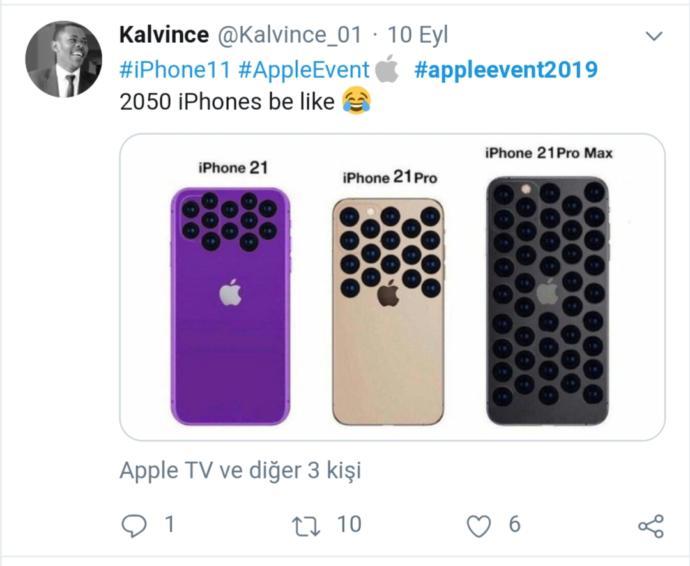 iPhone 11'in Kamera Tasarımını Diline Dolayan Twitter Kullanıcılarının Komik Tweetleri