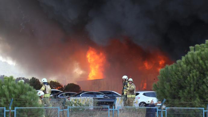 Uzman Görüşü: Cuma Günkü Yağmura Dikkat (Tuzla'daki Fabrika Yangını)