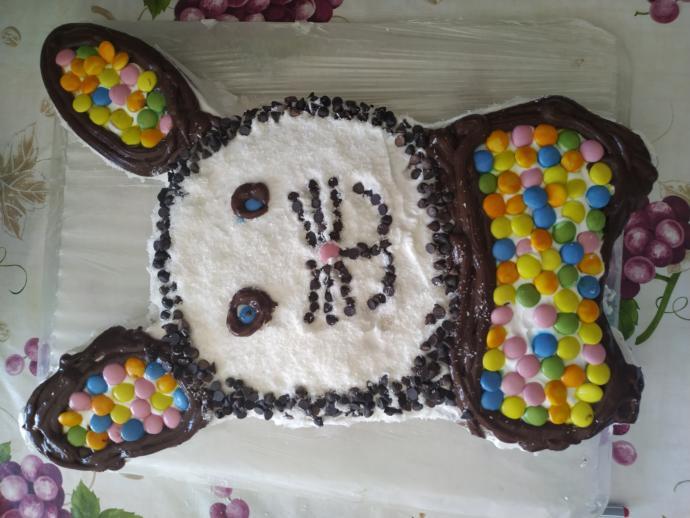 Çocukların Çok Seveceği Bir Doğum Günü Pastası: Tavşan Pasta