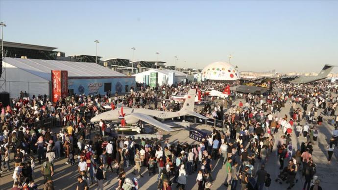 TEKNOFEST İstanbul'da 1 Milyon 720 Bin Kişiyle Ziyaretçi Rekoru Kırıldı