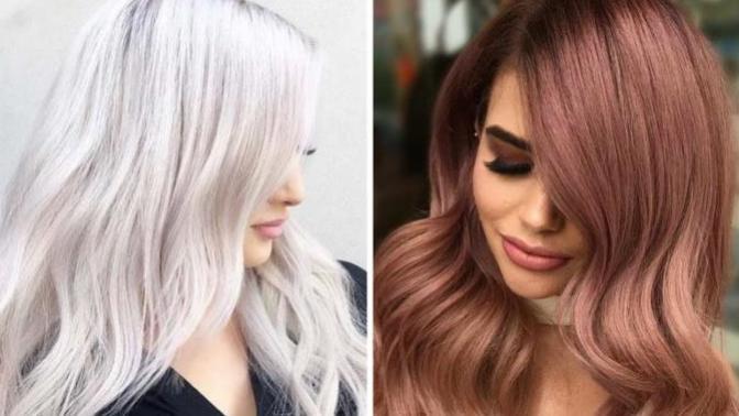 2019 Bitmeden Mutlaka Denemeniz Gereken Birbirinden Dikkat Çekici Saç Renkleri